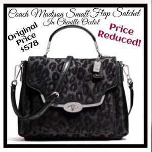 RARE!!! LIMITED EDITION Coach Madison Satchel